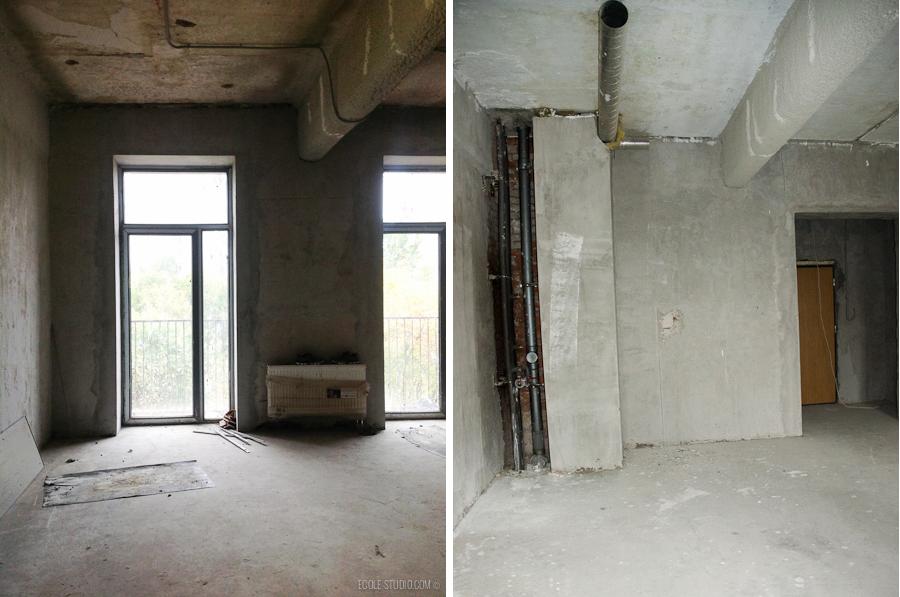 Дизайн квартиры под ключ от Ecole-Studio. Вот как это было.
